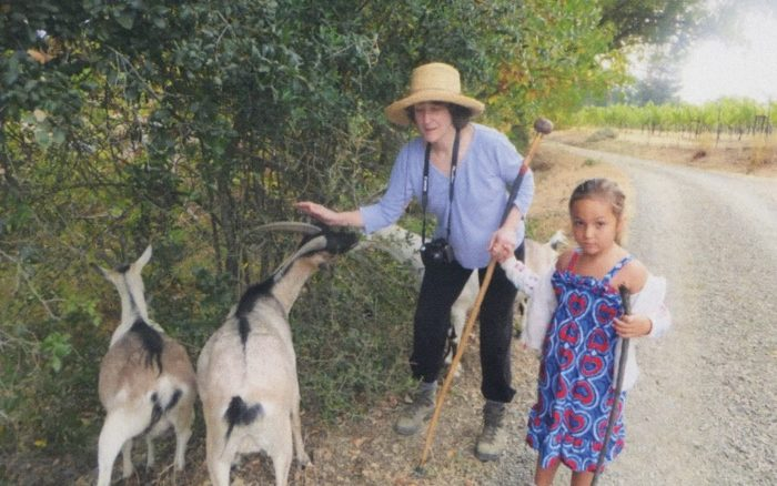 Olivia and the Goats